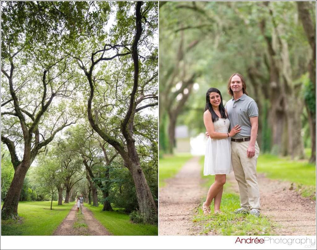 engagement-photos-andy-dustin_0001 Andrea and Dustin {Engaged} | Downtown Ocean Springs + Ohr O'Keefe Museum | Biloxi, MS Engagement Wedding