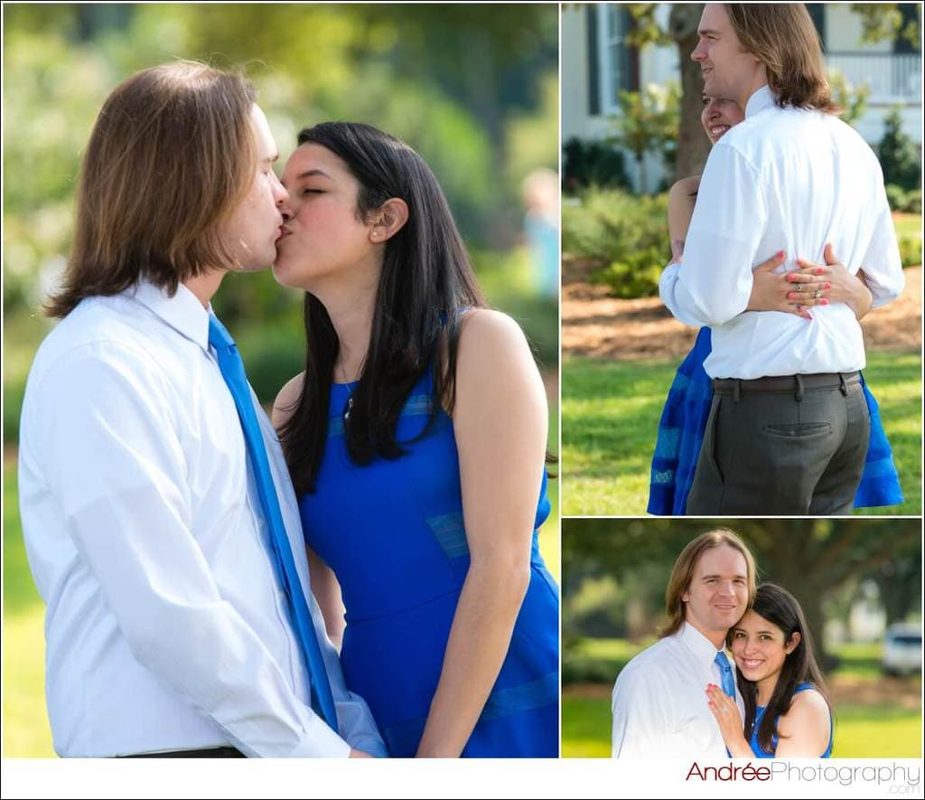 engagement-photos-andy-dustin_0007 Andrea and Dustin {Engaged} | Downtown Ocean Springs + Ohr O'Keefe Museum | Biloxi, MS Engagement Wedding
