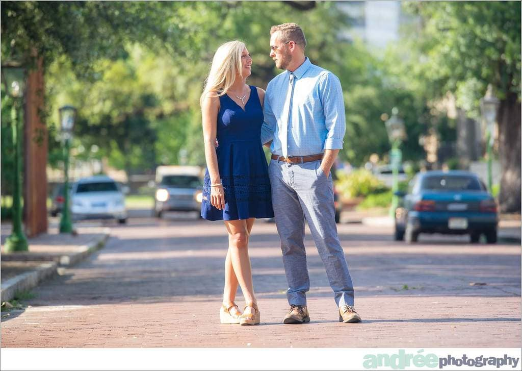 Deanna-and-Ashley-Engagement-Session_0050 Deanna and Ashley {Engaged} | Downtown Bienville Square + Causeway | Mobile, AL Engagement Wedding