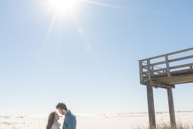 Peyton and Addison {Engaged}   Dauphin Island Engagement Photographer
