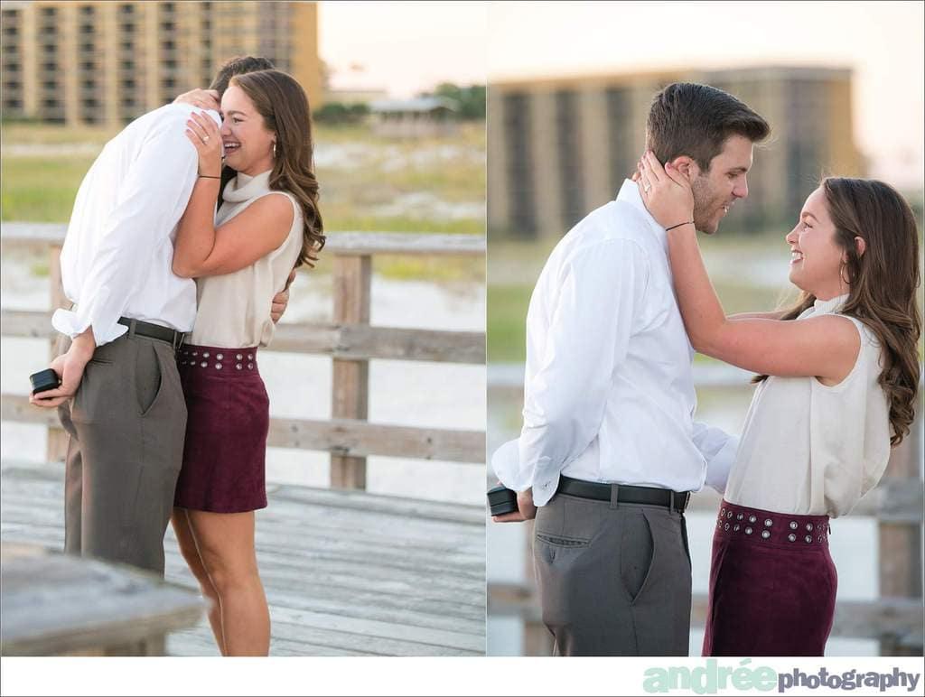 peyton-addison-fall-beach-proposal-dauphin-island-pier_0005 Peyton and Addison {Proposal} | Dauphin Island Pier | Dauphin Island, AL Engagement Wedding