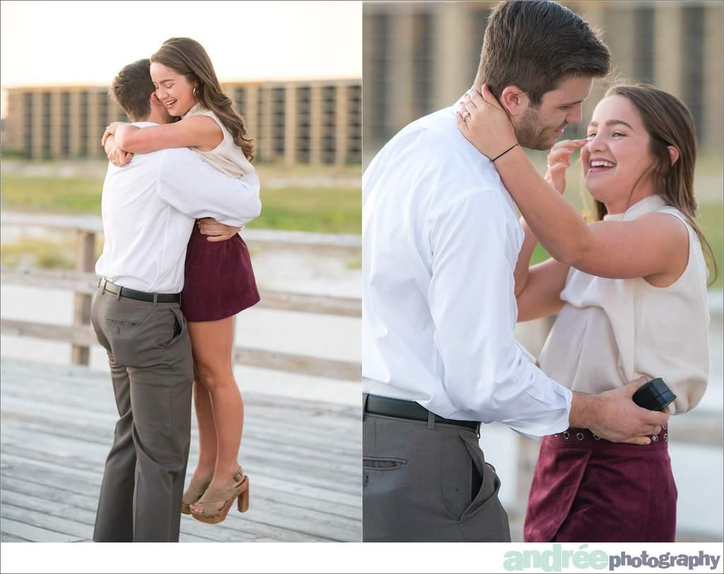 peyton-addison-fall-beach-proposal-dauphin-island-pier_0012 Peyton and Addison {Proposal} | Dauphin Island Pier | Dauphin Island, AL Engagement Wedding