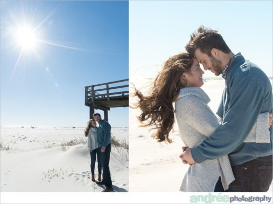 winter-windy-beach-engagement-dauphin-island_0005-533x400 Peyton and Addison {Engaged} | Dauphin Island Engagement Photographer Engagement Wedding