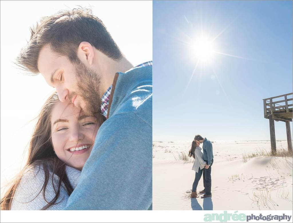winter-windy-beach-engagement-dauphin-island_0007 Peyton and Addison {Engaged} | Dauphin Island Beach + Audubon Bird Sanctuary | Dauphin Island, AL Engagement Wedding