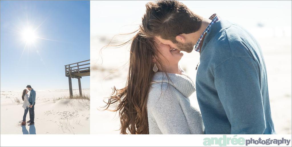 winter-windy-beach-engagement-dauphin-island_0008 Peyton and Addison {Engaged} | Dauphin Island Beach + Audubon Bird Sanctuary | Dauphin Island, AL Engagement Wedding