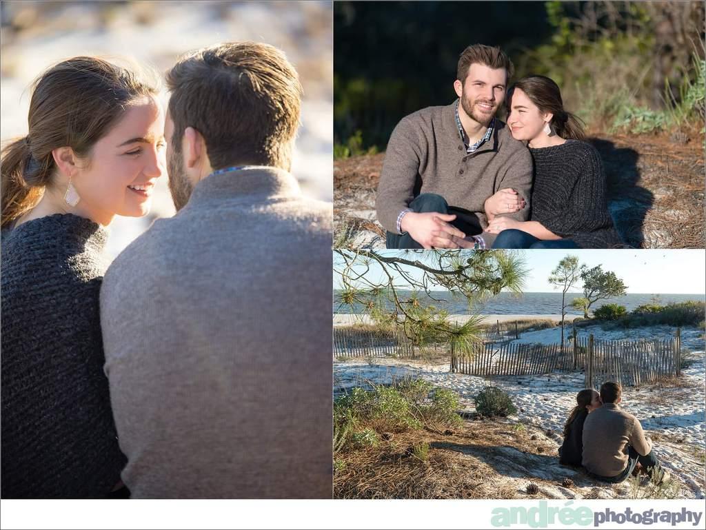 winter-windy-beach-engagement-dauphin-island_0035 Peyton and Addison {Engaged} | Dauphin Island Beach + Audubon Bird Sanctuary | Dauphin Island, AL Engagement Wedding