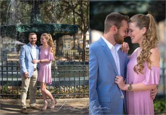 engagement-photos-outdoors-forest-canoe-downtown-mobile-makaela-gabe_0001-576x400 Makaela and Gabe {Engaged} | Bienville Square + Meaher State Park | Mobile, AL Engagement Photographer Business Engagement Wedding