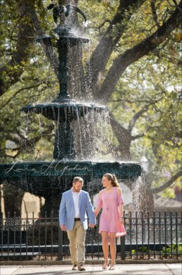 engagement-photos-outdoors-forest-canoe-downtown-mobile-makaela-gabe_0002-265x400 Makaela and Gabe {Engaged} | Bienville Square + Meaher State Park | Mobile, AL Engagement Photographer Business Engagement Wedding