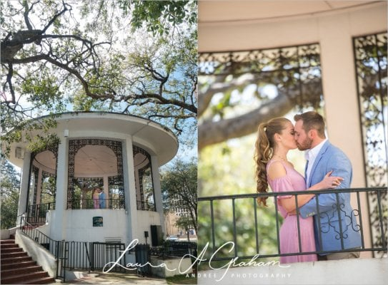 engagement-photos-outdoors-forest-canoe-downtown-mobile-makaela-gabe_0003-543x400 Makaela and Gabe {Engaged} | Bienville Square + Meaher State Park | Mobile, AL Engagement Photographer Business Engagement Wedding