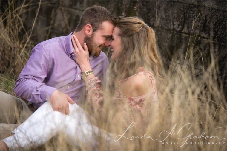 Makaela and Gabe {Engaged}   Bienville Square + Meaher State Park   Mobile, AL Engagement Photographer