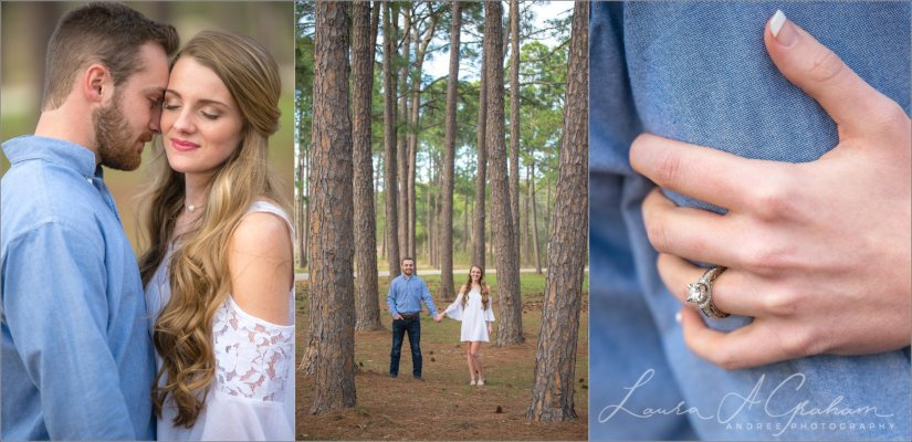 engagement-photos-outdoors-forest-canoe-downtown-mobile-makaela-gabe_0014-825x400 Makaela and Gabe {Engaged} | Bienville Square + Meaher State Park | Mobile, AL Engagement Photographer Business Engagement Wedding