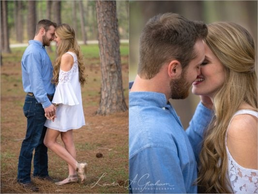 engagement-photos-outdoors-forest-canoe-downtown-mobile-makaela-gabe_0016-533x400 Makaela and Gabe {Engaged} | Bienville Square + Meaher State Park | Mobile, AL Engagement Photographer Business Engagement Wedding
