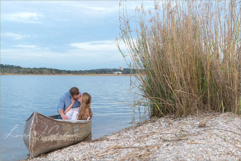 engagement-photos-outdoors-forest-canoe-downtown-mobile-makaela-gabe_0035 Makaela and Gabe {Engaged}   Mobile, Alabama Engagement Photographer Engagement Wedding