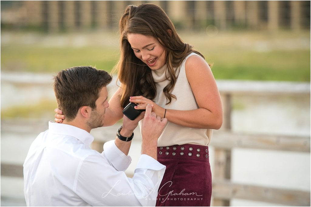dauphin-island-pier-beach-proposal-peyton-addison_0027 Peyton and Addison {Married} - Previews | Weeks Bay Plantation Alabama Wedding Photographer Business Wedding