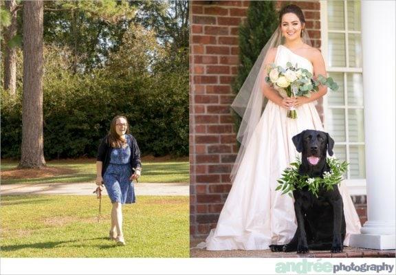 peyton-outdoors-oak-trees-black-lab-dog-bridal-session_0012-576x400 Peyton {Bridal} | Alabama Bridal Photographer Bridal Editorial Wedding