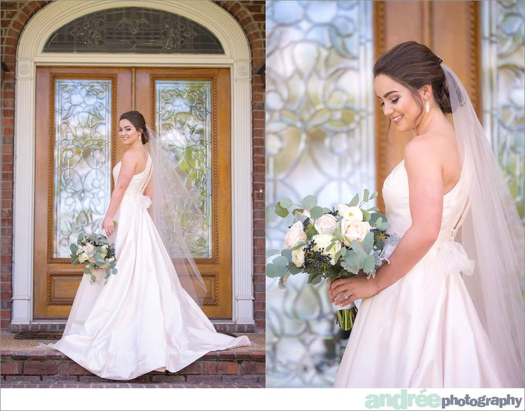 peyton-outdoors-oak-trees-black-lab-dog-bridal-session_0013 Peyton {Bridal Session} | Private Residence | Mobile, AL Bridal Wedding