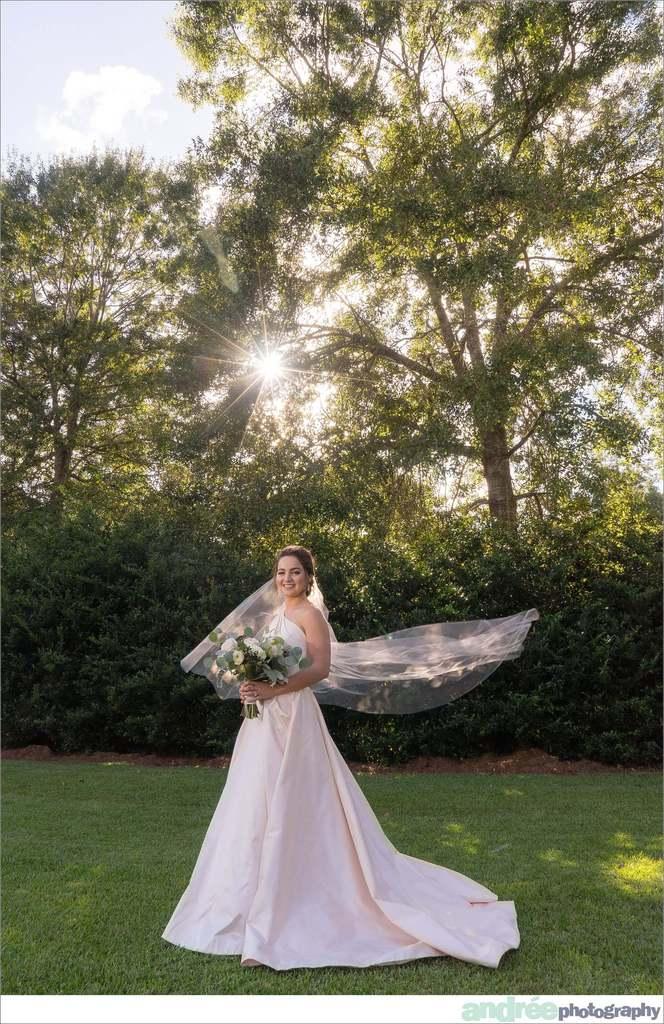 peyton-outdoors-oak-trees-black-lab-dog-bridal-session_0017 Peyton {Bridal Session}   Private Residence   Mobile, AL Bridal Wedding