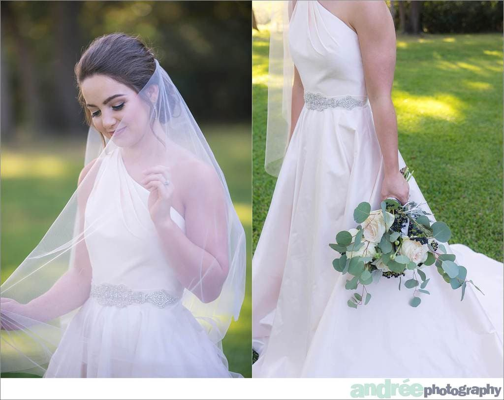 peyton-outdoors-oak-trees-black-lab-dog-bridal-session_0026 Peyton {Bridal Session} | Private Residence | Mobile, AL Bridal Wedding