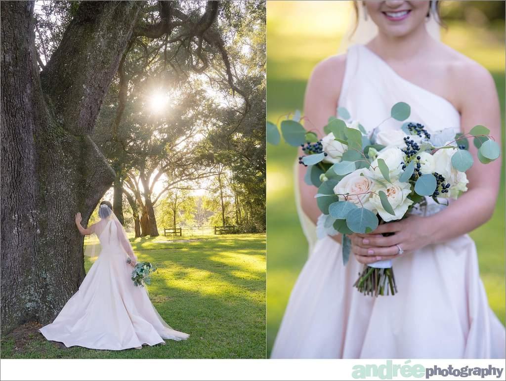 peyton-outdoors-oak-trees-black-lab-dog-bridal-session_0029 Peyton {Bridal Session}   Private Residence   Mobile, AL Bridal Wedding