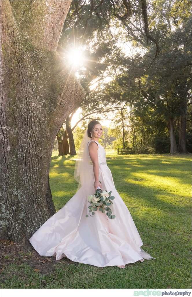 peyton-outdoors-oak-trees-black-lab-dog-bridal-session_0031 Peyton {Bridal Session} | Private Residence | Mobile, AL Bridal Wedding