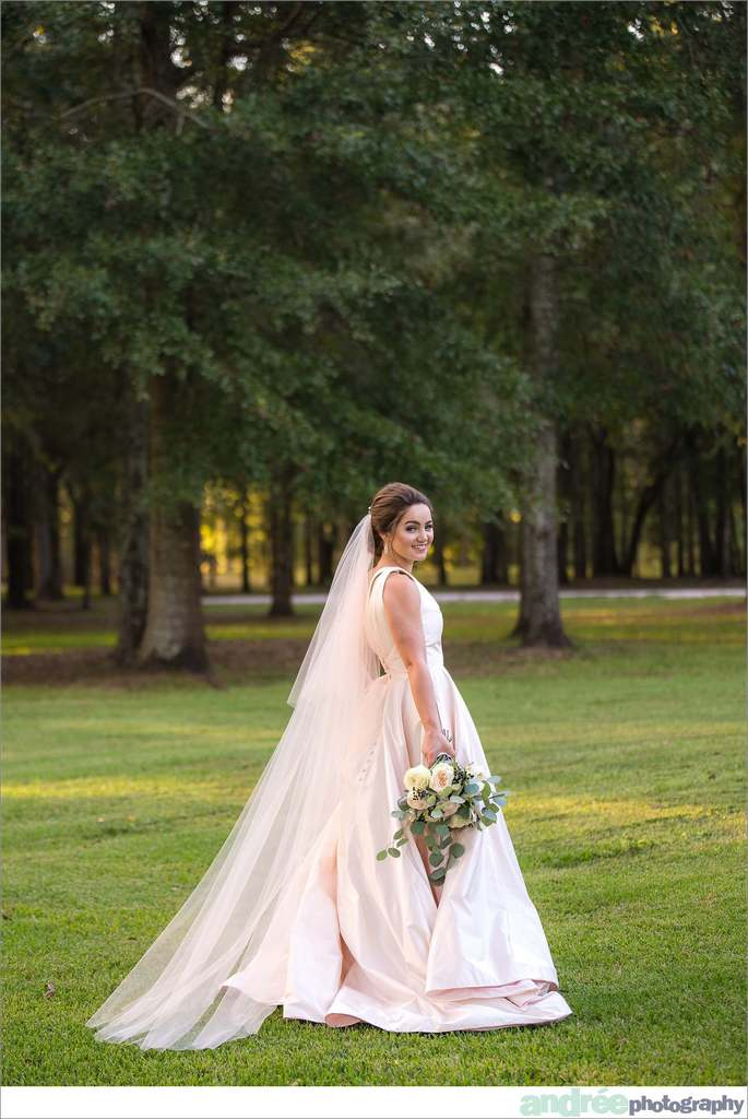 peyton-outdoors-oak-trees-black-lab-dog-bridal-session_0040 Peyton {Bridal Session}   Private Residence   Mobile, AL Bridal Wedding