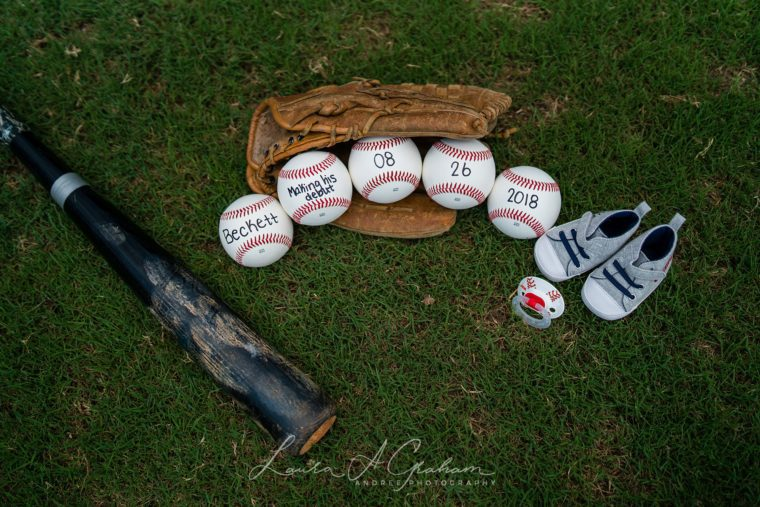 Sheena and Ari Baseball Inspired Maternity Session| Alabama Maternity Photographer